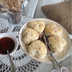 lavender tea biscuits
